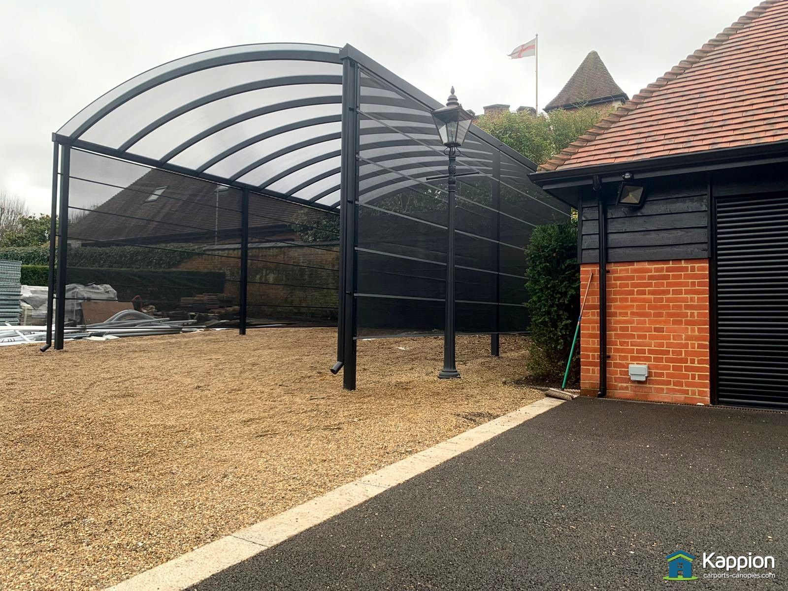 Motorhome Canopy Installed In Surrey By Kappion Carports Canopies In 2020 Carport Canopy Canopy Outdoor Carport Designs