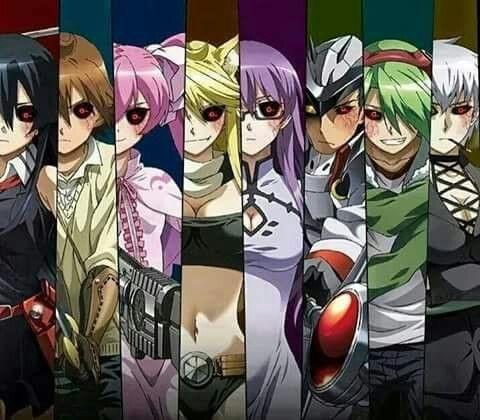 Akame Ga Kill X Tokyo Ghoul Akame Ga Kill Akame Ga Anime