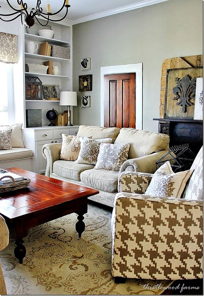 Industrial farmhouse decorating industrial farmhouse industrial and living rooms for Country industrial living room