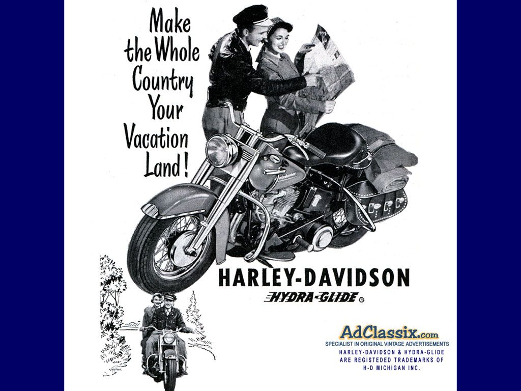 vintage harley davidson ads | custom search home us car ads truck ads site map