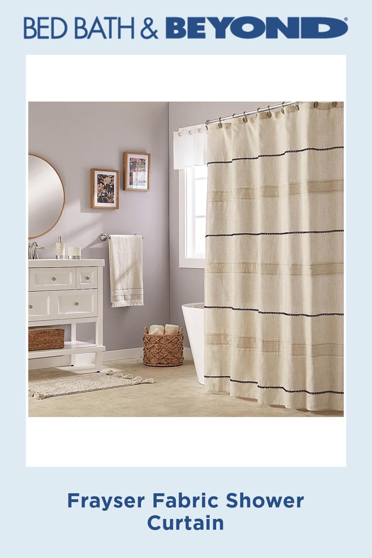Frayser Fabric Shower Curtain