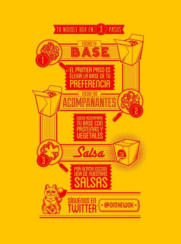 On the Wok by Oscar Bastidas, via Behance