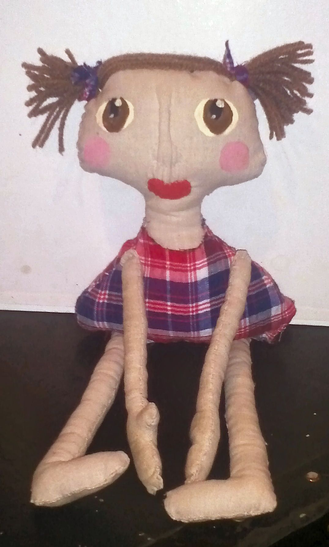 How to Make a Primitive Country Doll