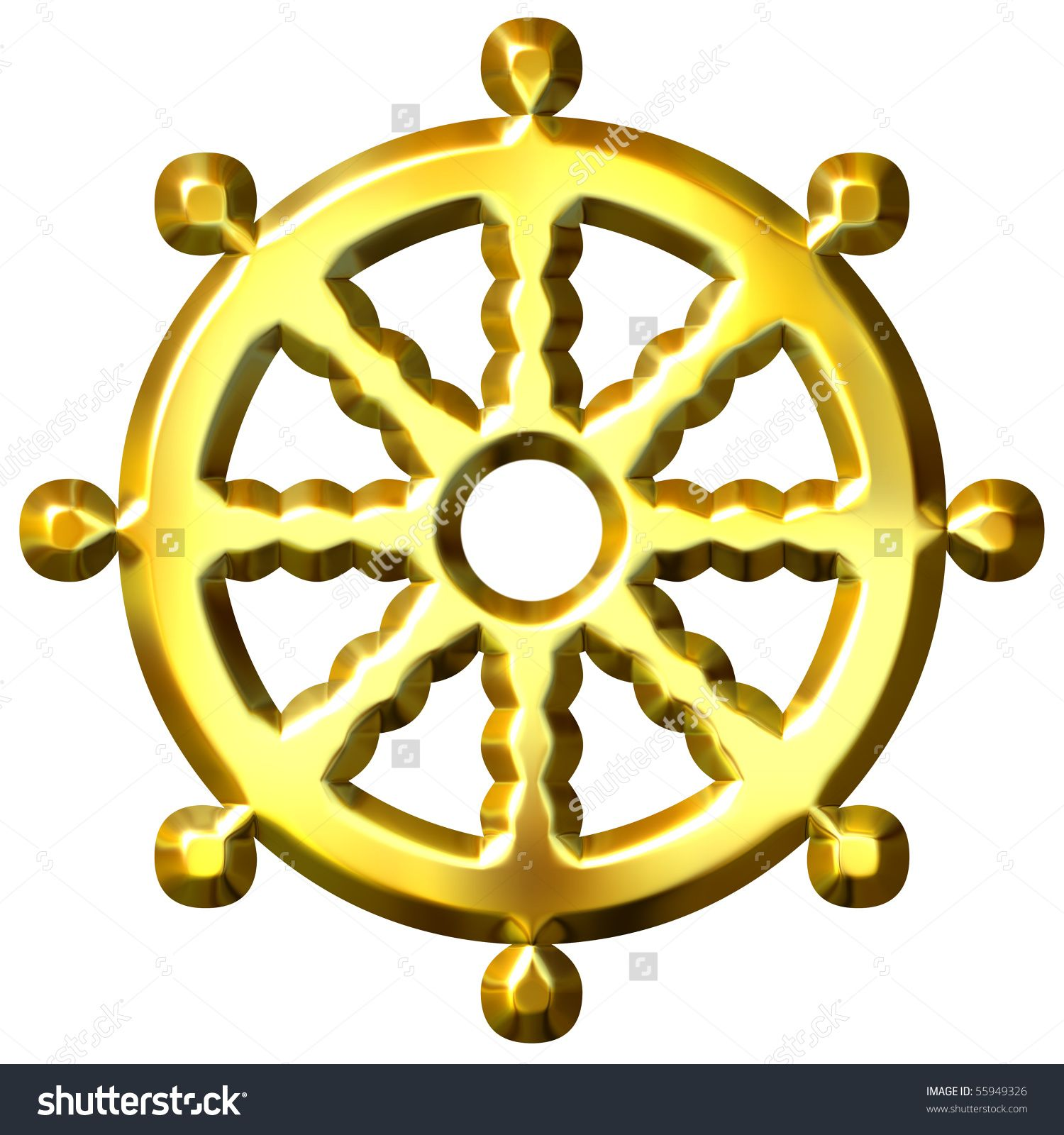 3d golden buddhism symbol wheel of dharma represents buddhas 3d golden buddhism symbol wheel of dharma represents buddhas biocorpaavc
