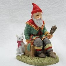 "Sweden Jultomtar International Santa Claus Collection 4"" Figure in original box"