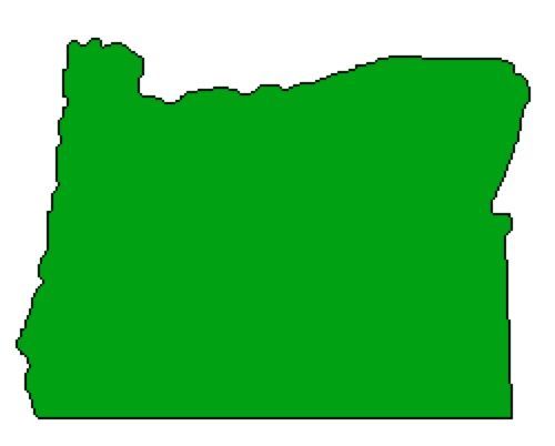 Outline Of Oregon State Map ClipArt Best D4PD OR Logo