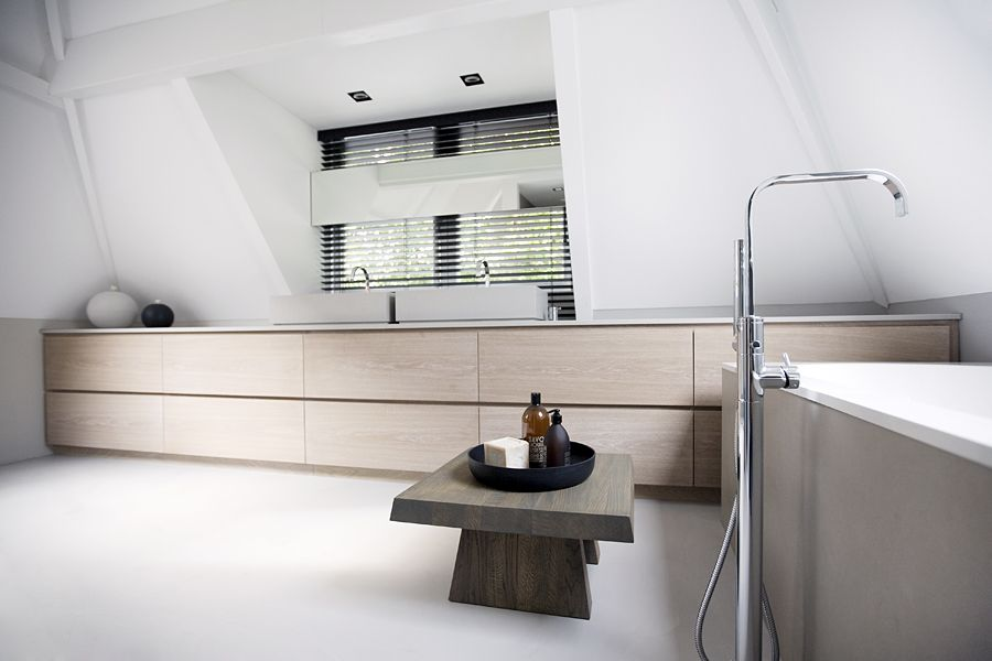 Bathroom - Stunning concept and design - great use of in-built storage facilities