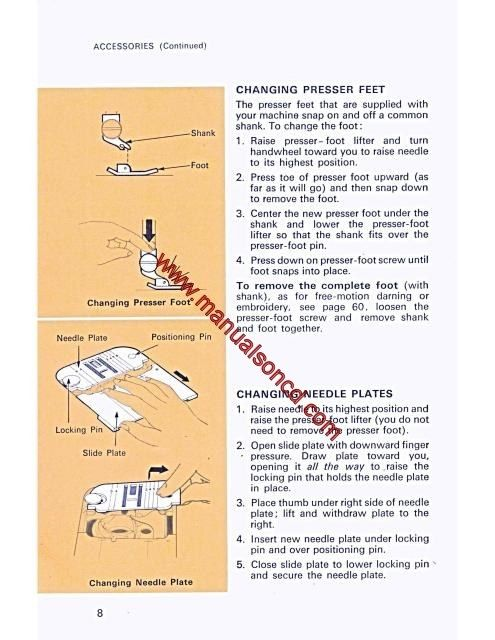 singer 534 stylist sewing machine instruction manual sewing
