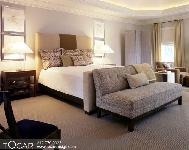 Love The Sofa Bench At Foot Of Bed Bedroom Seating Bedroom