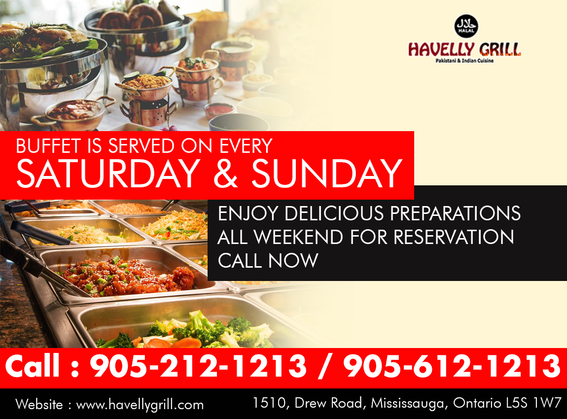 Pin By Havelly Grill On Special Weekend Buffet Buffet Good
