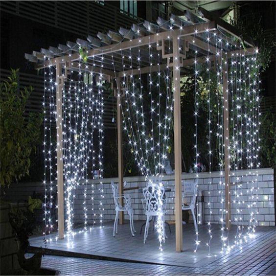 15+ Decoracion con luces de navidad para fiestas inspirations