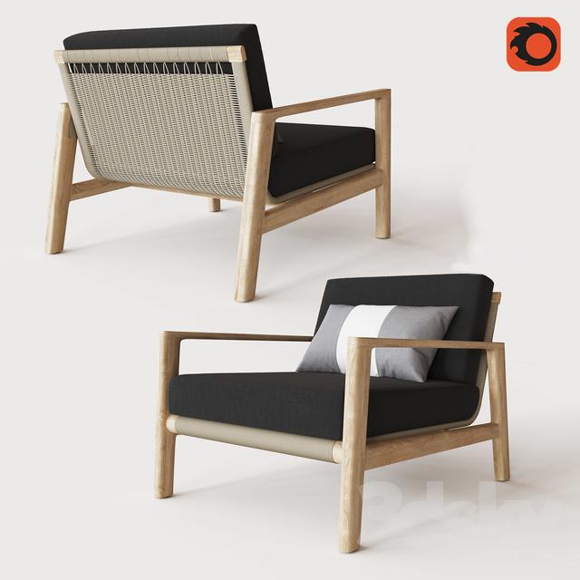 Restoration Hardware Outdoor Furniture 3d Model