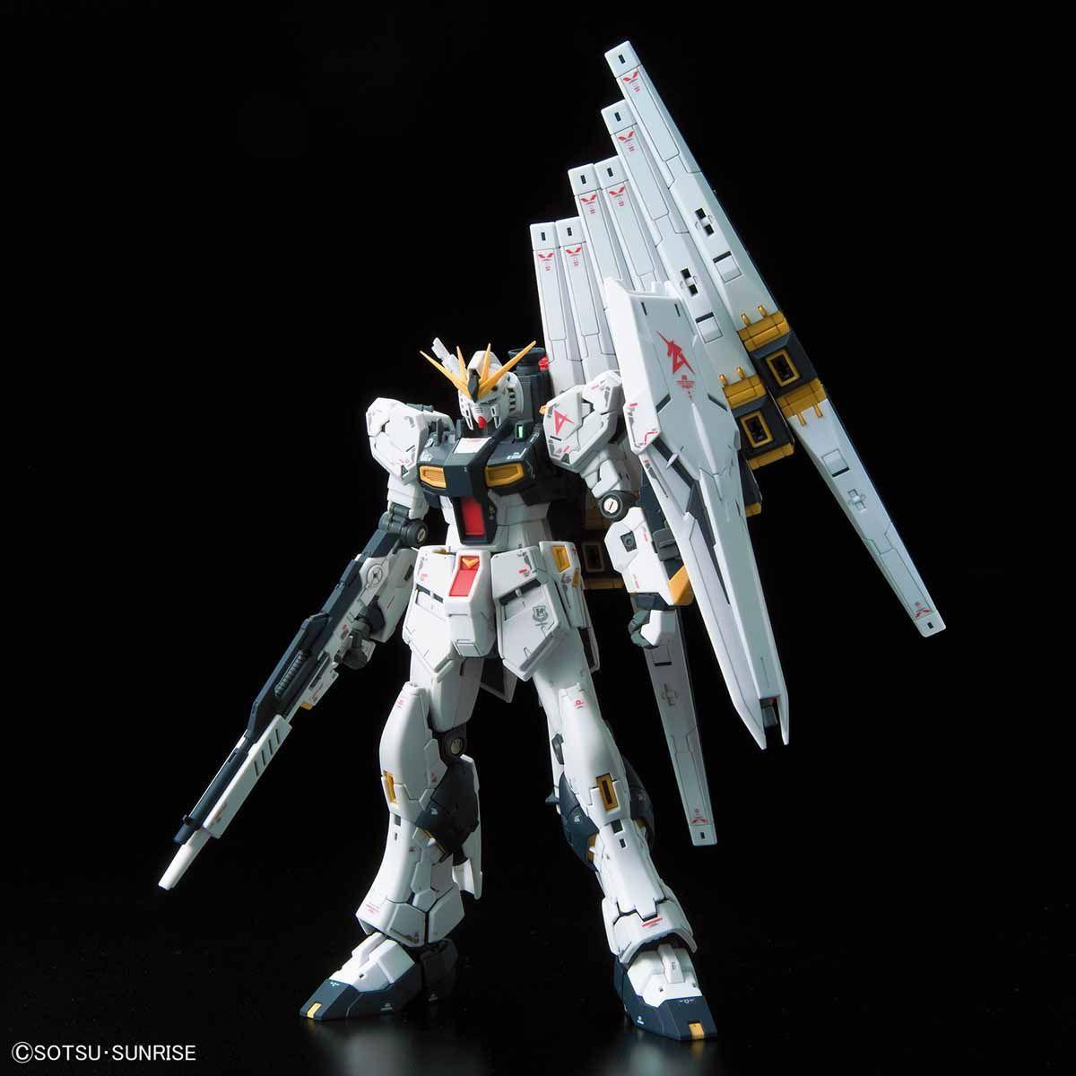 Bandai Hobby: Char's Counterattack - RG 1/144 RX-93 Nu Gundam Model Kit