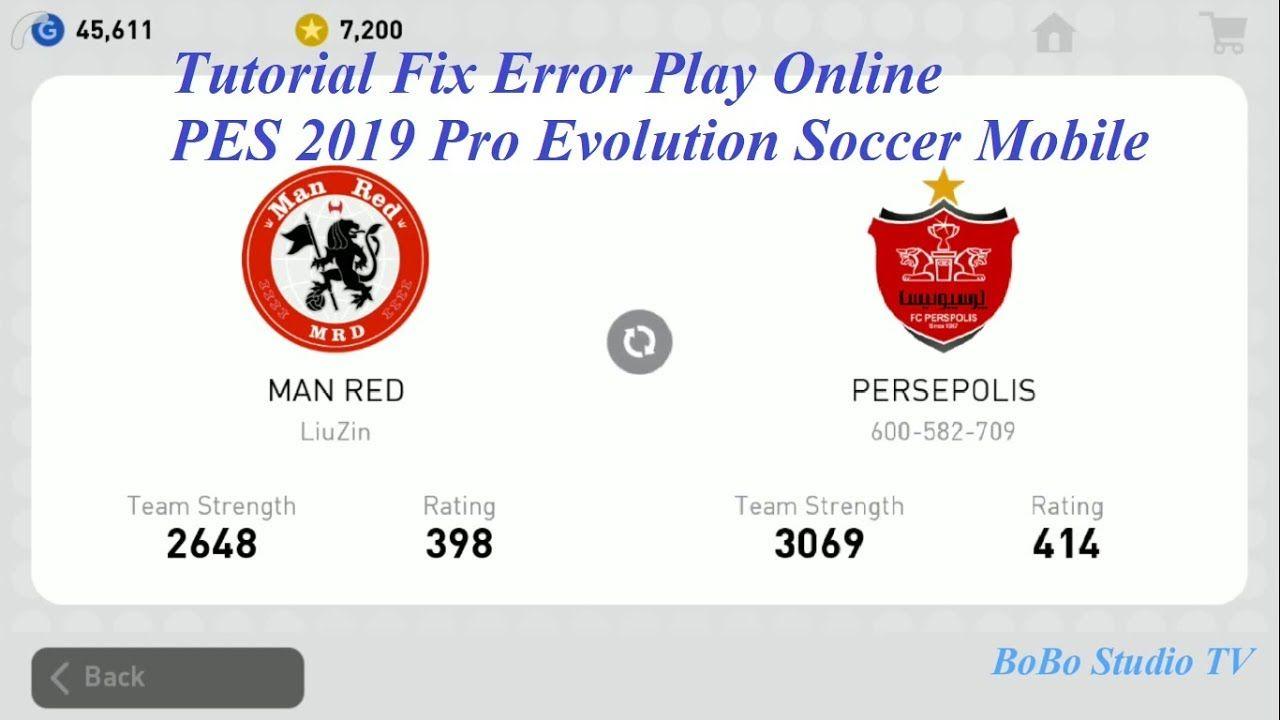 Tutorial Fix Error Play Online PES 2019 Pro Evolution Soccer