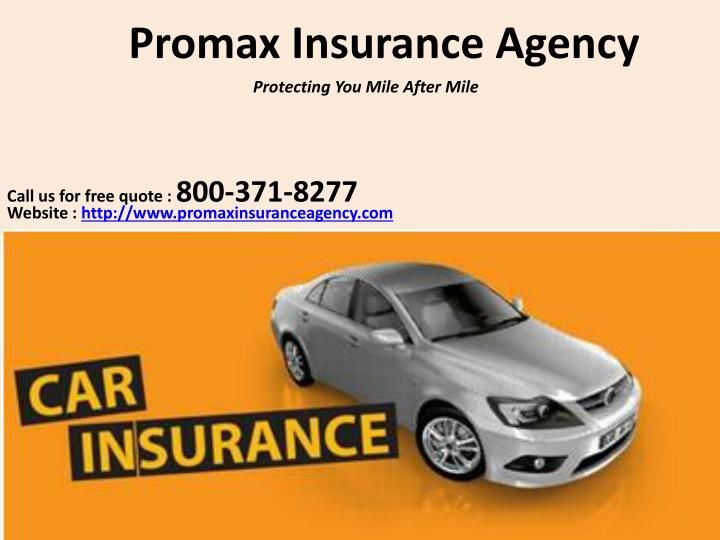 Auto Insurance Quotes In California Insurance Agency Car