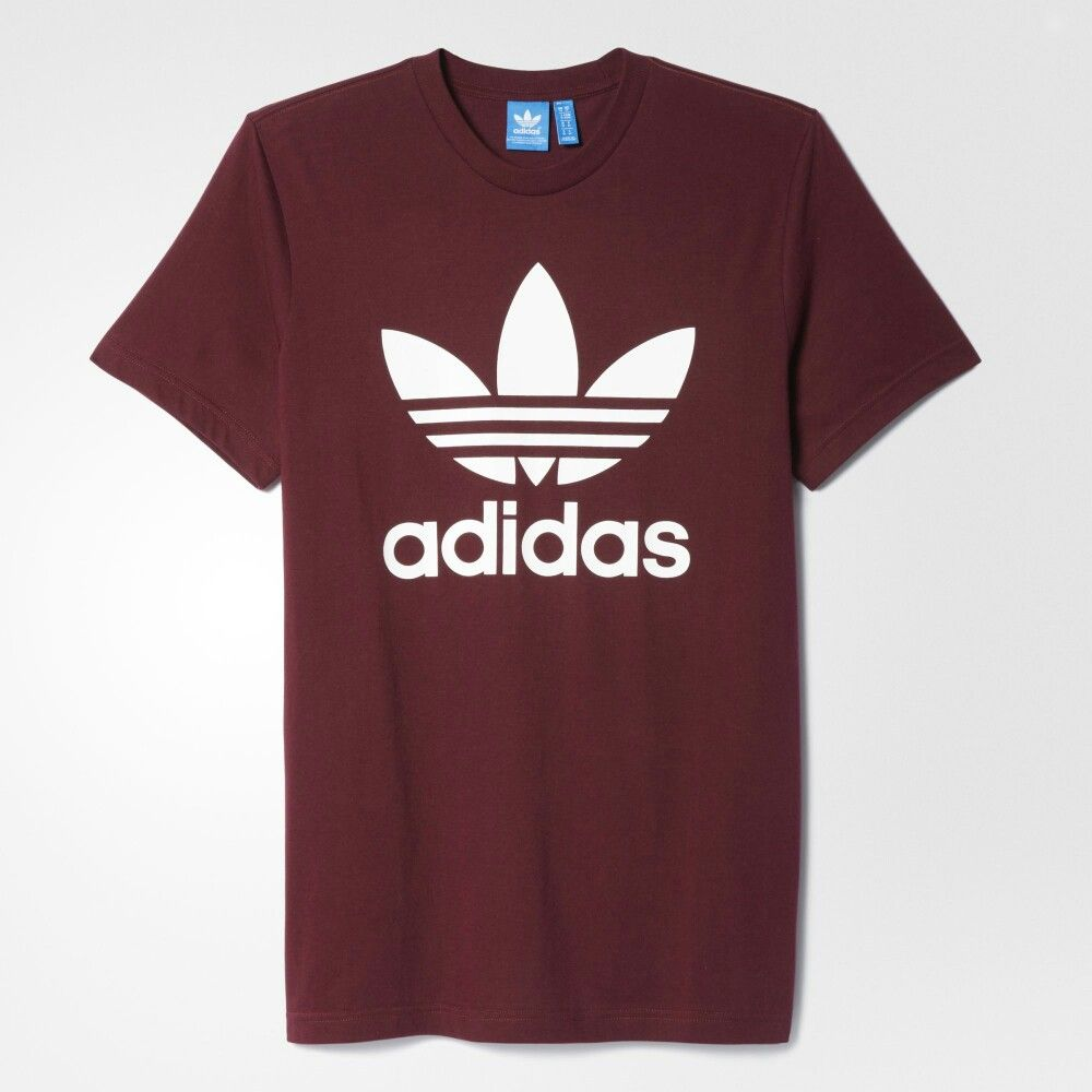 b7f63e495aa67 Maroon Adidas shirt female | If i was a girl | Addidas shirts ...