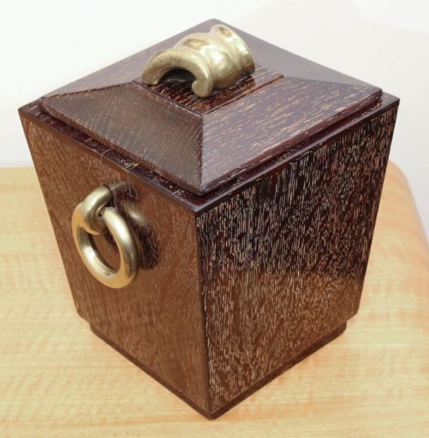 Cerused box