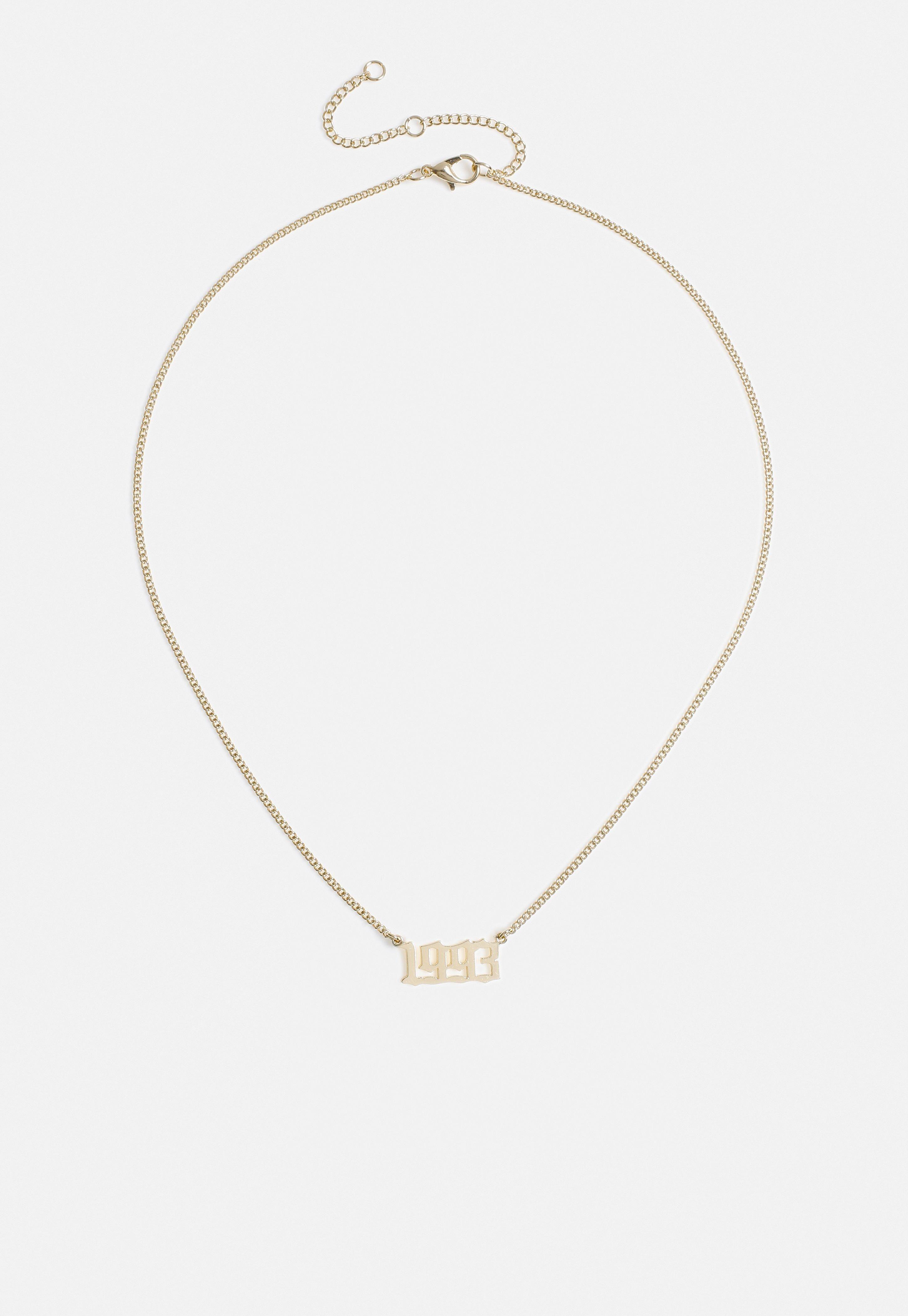 Gold Look Birth Year 1993 Necklace Sponsored Birth Spon Gold Year Fashion Costume Jewelry Women Jewelry Jewelry