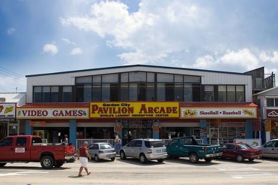 Garden City, SC | Garden City Pavilion Arcade Reviews   Myrtle Beach,  Coastal South