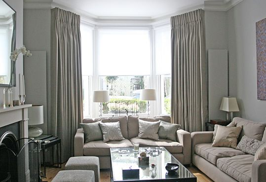 Bay Window Curtain Ideas For Living Room Ceiling Lights More Below Diy Windows Exterior Nook Seat And Plants Dining Shutters Trim Treatments Kitchen