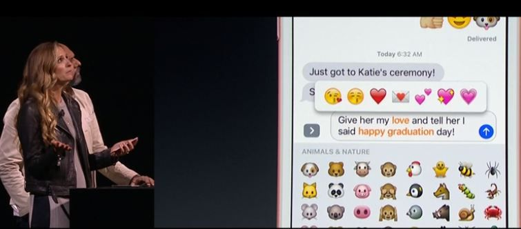 Explained imessage in ios 10 new in text and keyboard