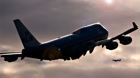 Photo uploaded on our #KLM Facebook Wall by: Menno Mennes