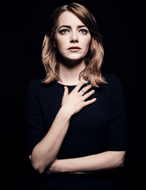 I have a life that's just been a well of loneliness Emma Stone