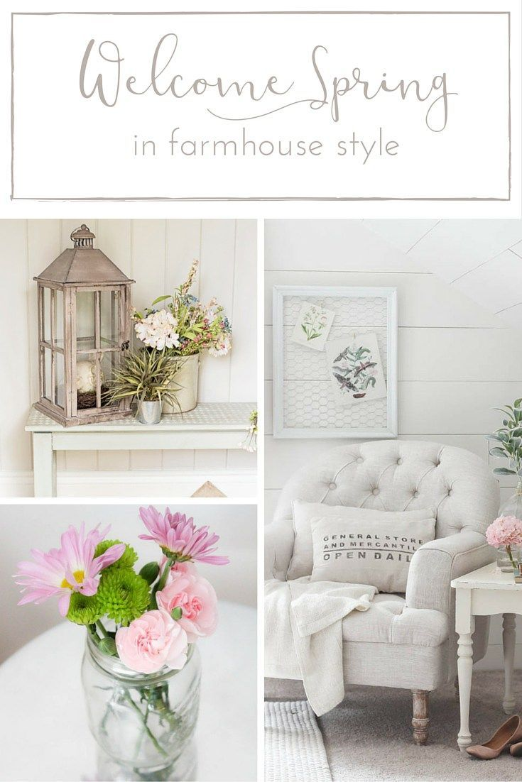 Farmhouse Spring Decor: 12 Lovely Ways to Welcome Spring in ...