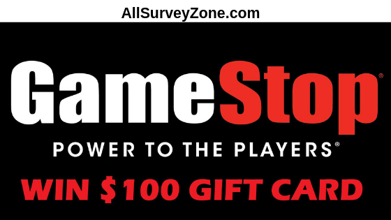 Tellgamestop Complete The Gamestop Survey Win 100 Gift Cards