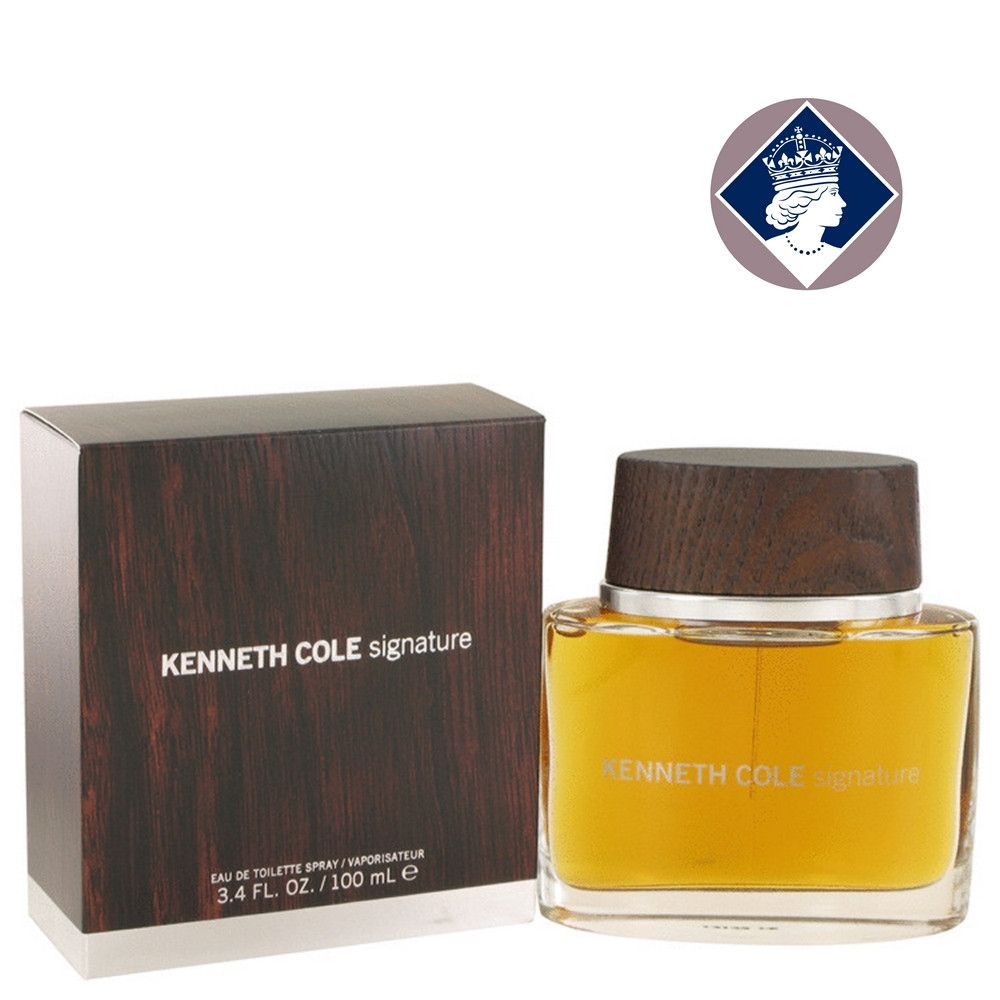 Kenneth Cole Signature for Men 100ml/3.4oz Eau De Toilette Cologne Scent Spray