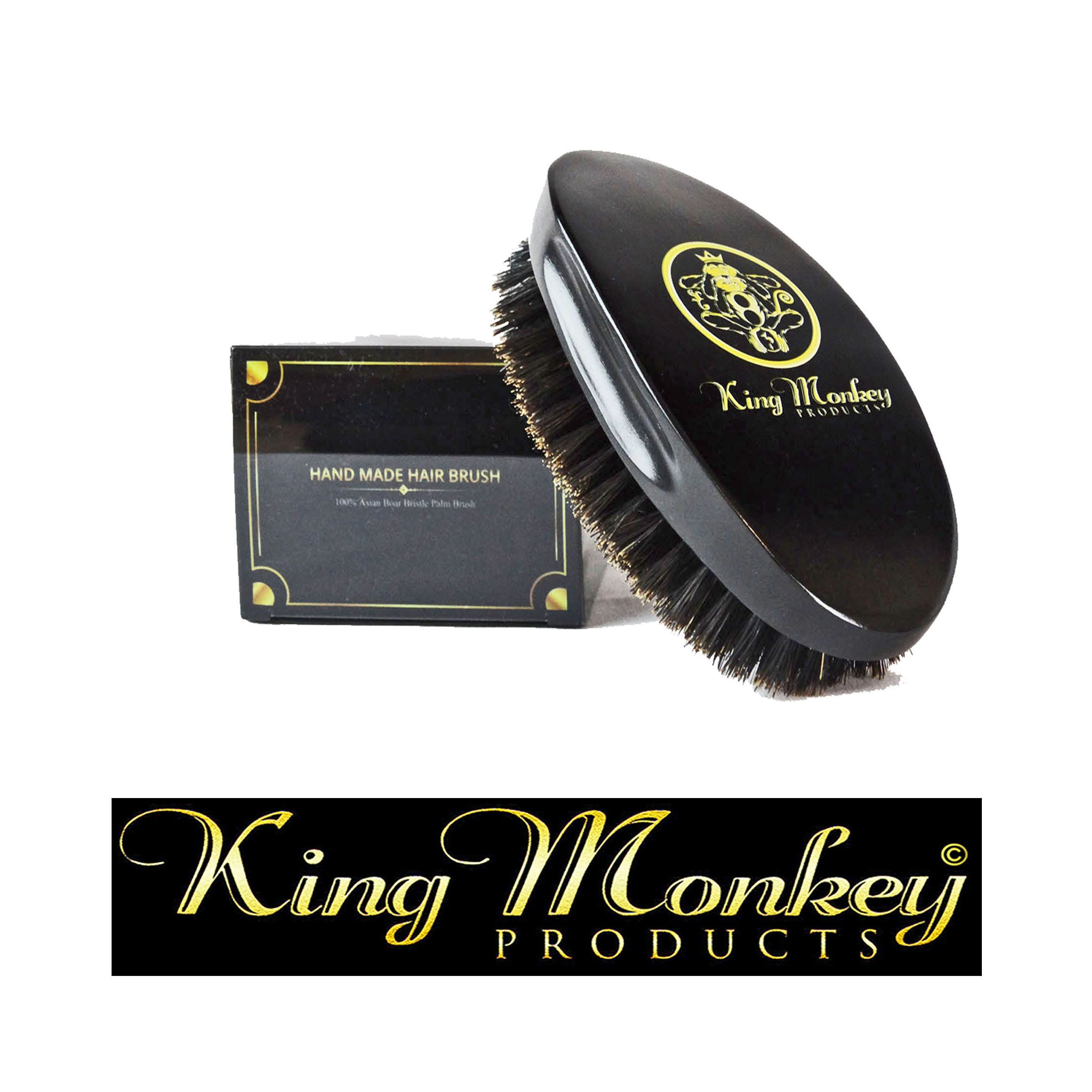 16.00 KING MONKEY PRODUCTS 1776 Natural Boar Bristle