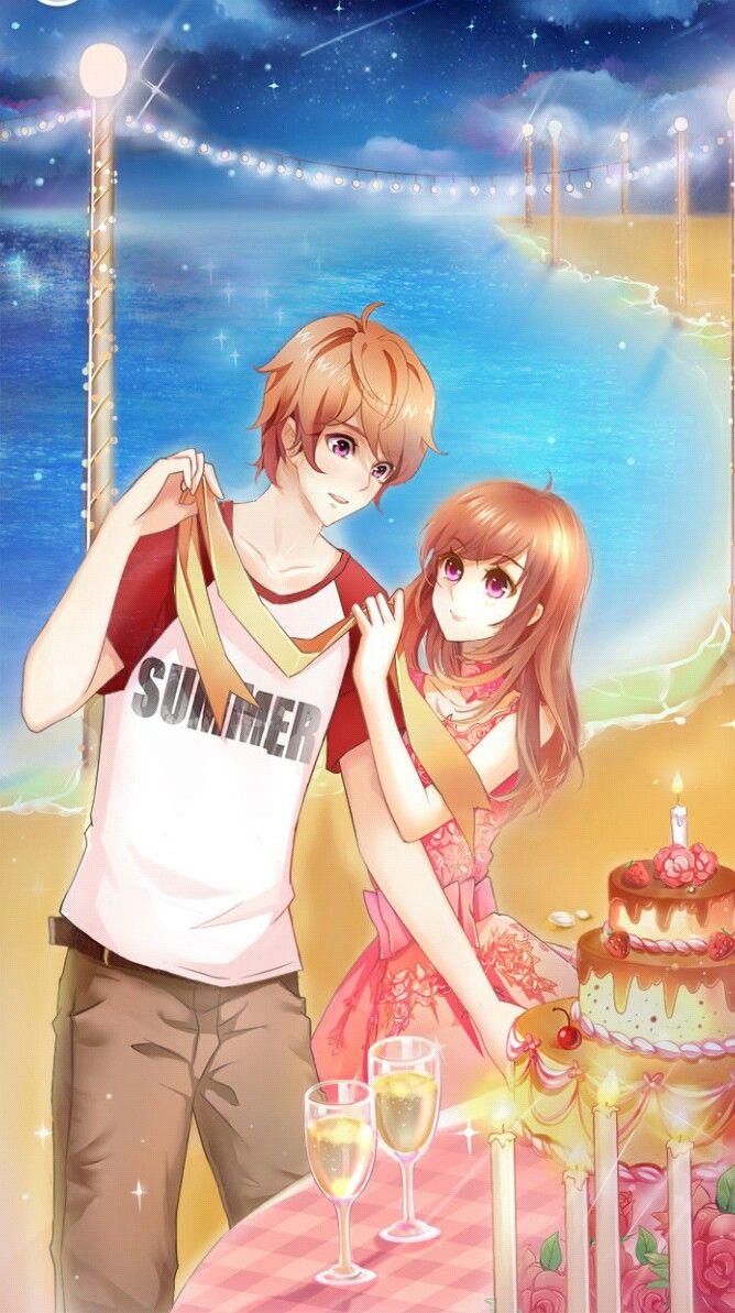 Romantic Diary Pure Love Otome Game CG