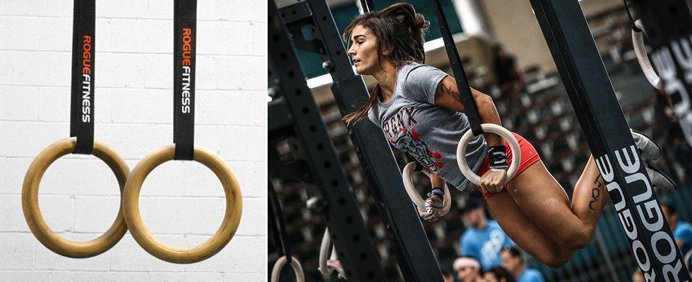 Rogue Gymnastic Wood Rings - Dan Bailey