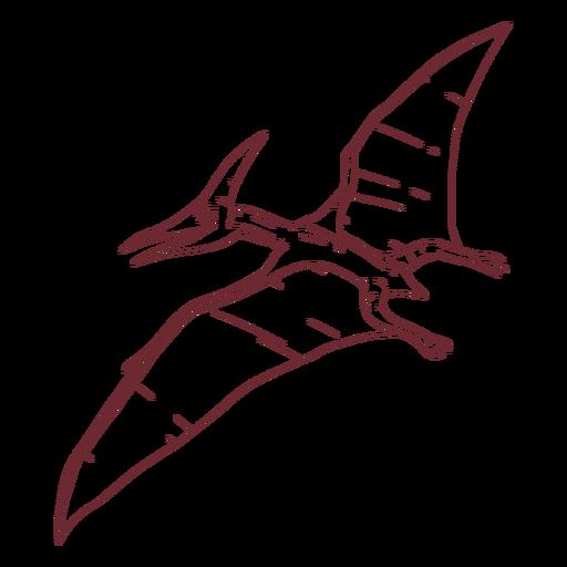 Pterodactyl Dinosaur Drawn Ad Ad Ad Drawn Dinosaur Pterodactyl In 2021 Dinosaur Drawing Pterodactyl Dinosaur