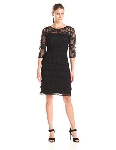 Jessica Howard Women S Lace Dress With Artichoke Skirt B