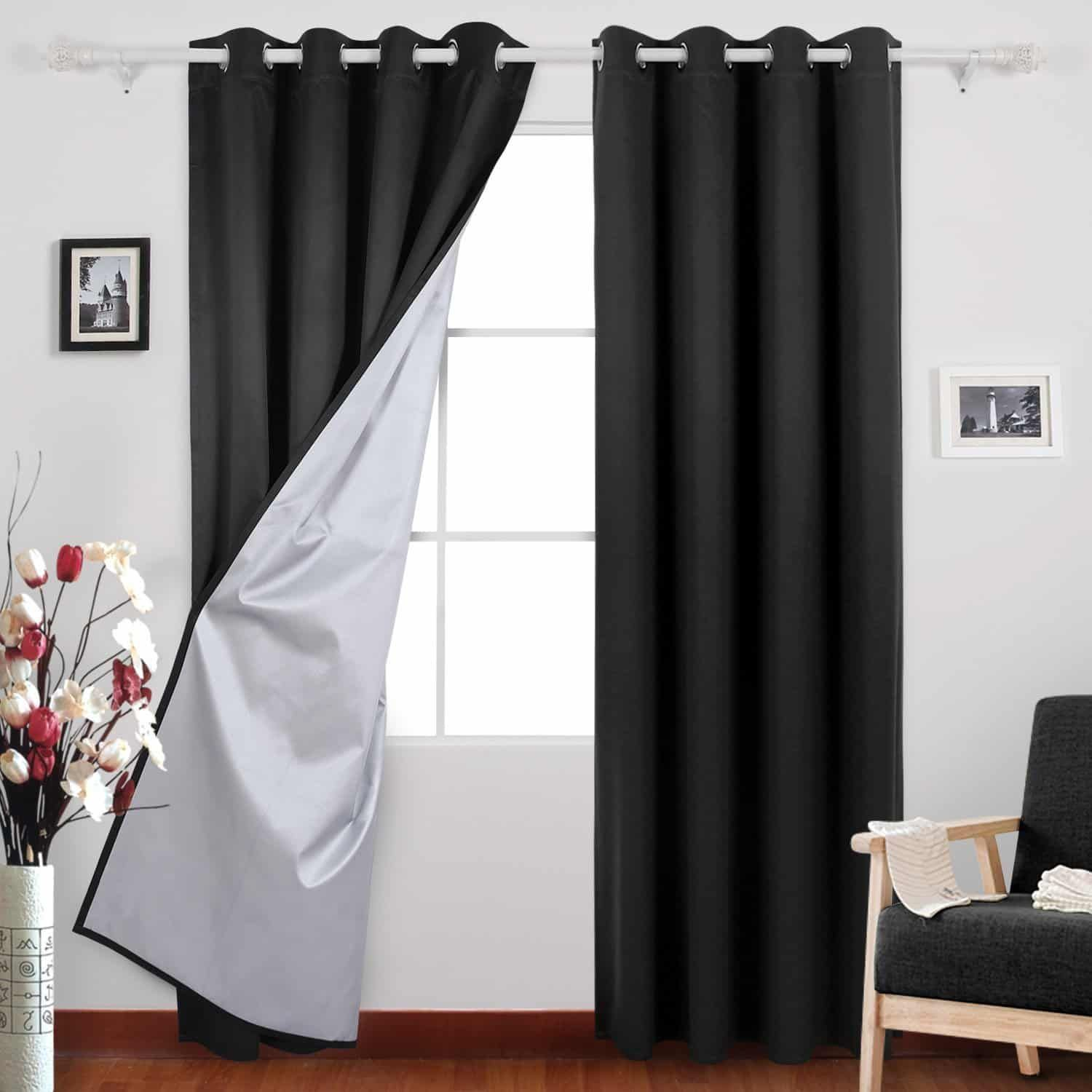 Top 10 Best Blackout Curtains In 2020 Home Window Curtains Curtains Living Room Insulated Blackout Curtains Blackout Curtains