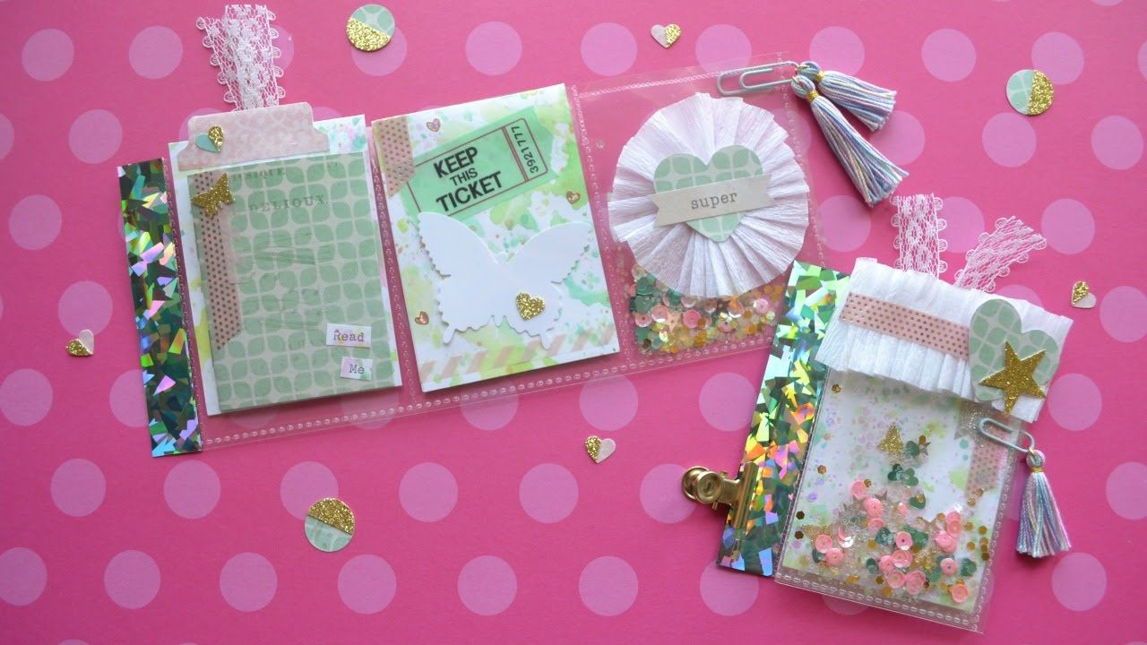 Mini Pocket Letter Tutorial- Little Hot Tamale  Perfect for pen pal mail, super simple