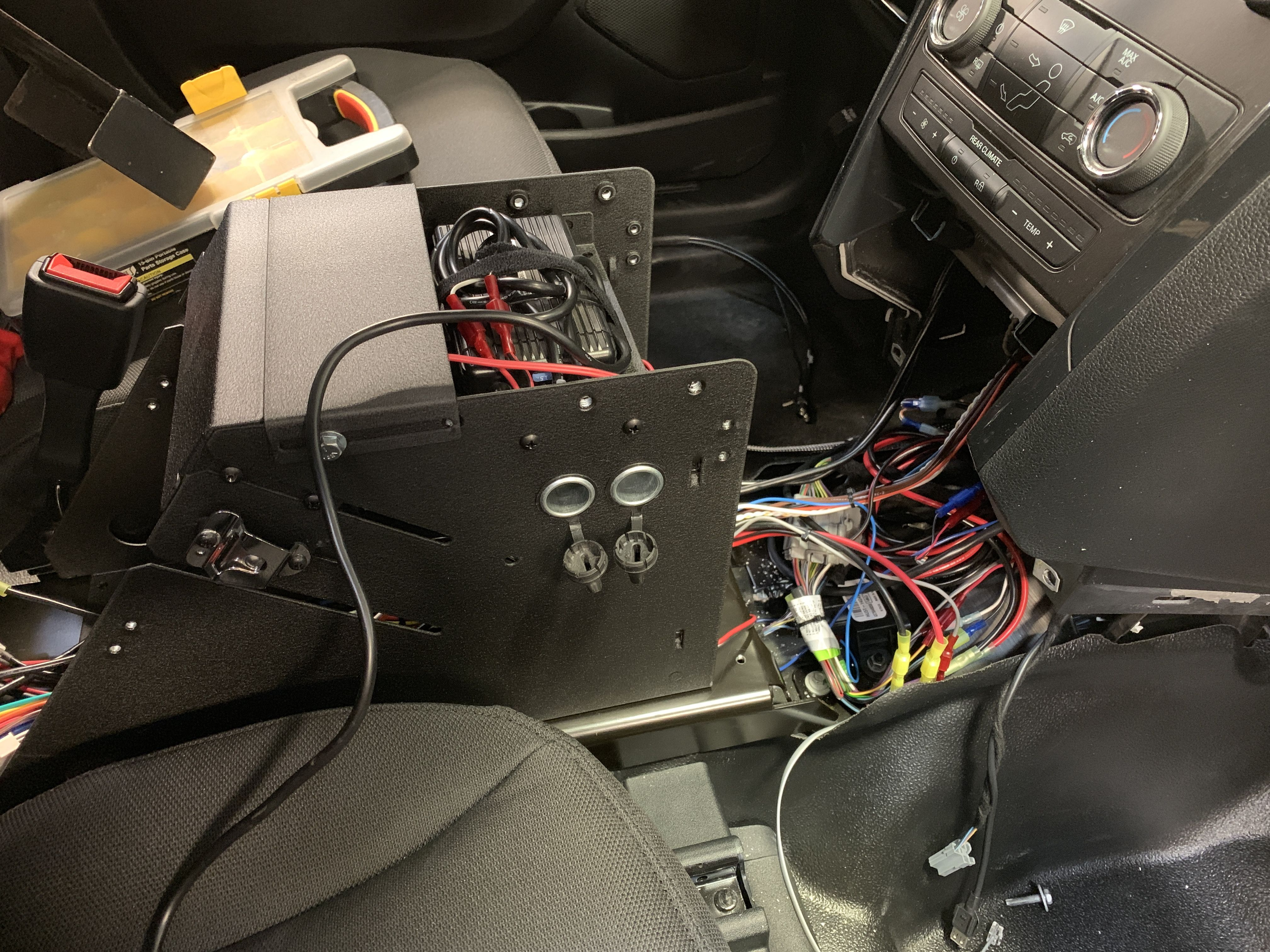 Tahoe Police Package Wiring