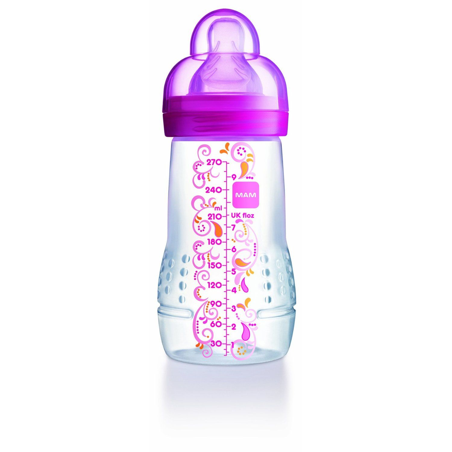 Mam Baby Bottles 11 Oz Candy Pink Ornament Design With Images Baby Bottles Toddler Bottles Pack Baby