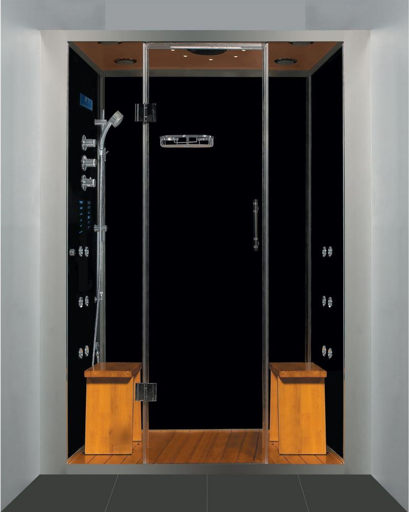Luxury Steam Shower Alcove Enclosure With Multi Body Massage