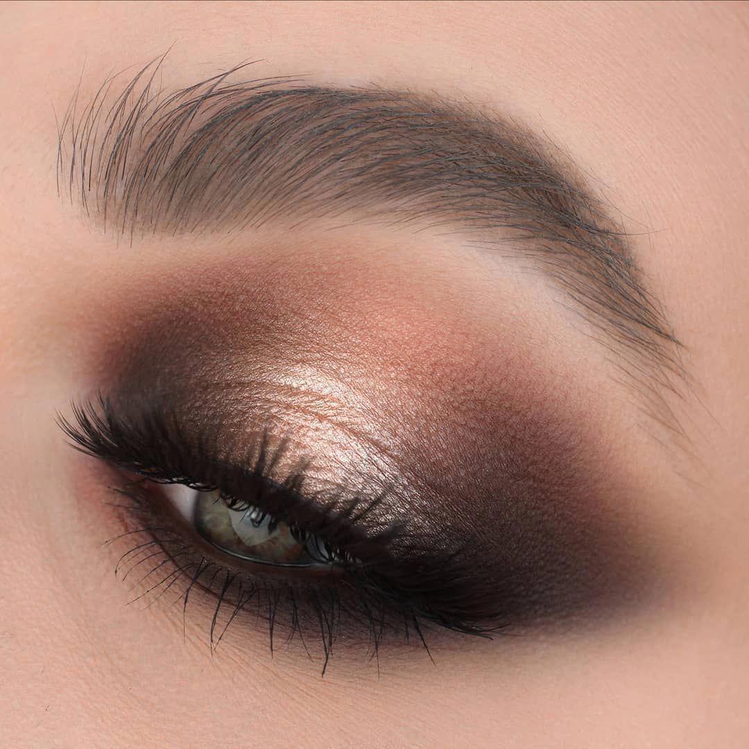 макияж в картинках коричневые тени старых районах