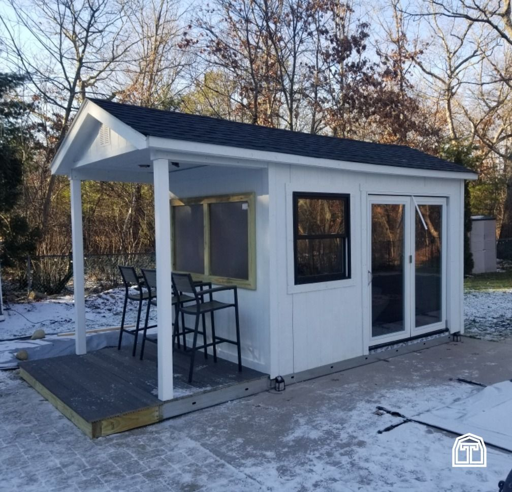 Could This Be The Perfect Pub Shed Add Extra Entertaining Space With A Custom Pub Shed Designed To Fit Your Backyard Whethe In 2020 Pub Sheds Cozy Backyard Bar Shed