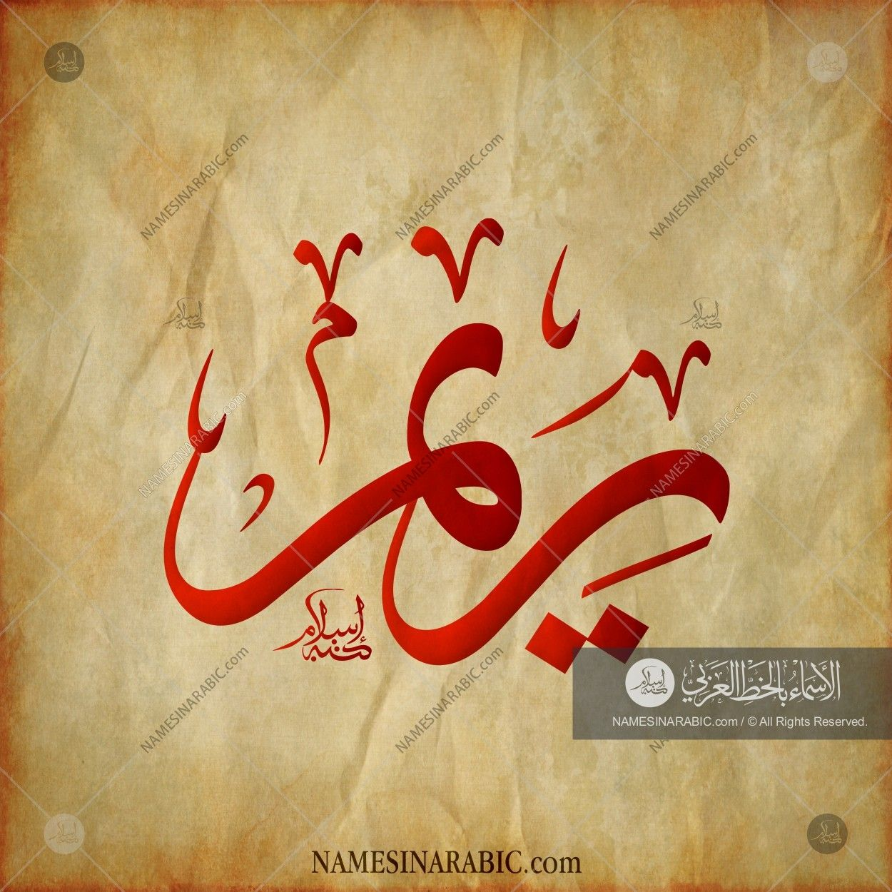 Reem ريم Names In Arabic Calligraphy Name 1873 Islamic Art Calligraphy Calligraphy Name Name Design Art