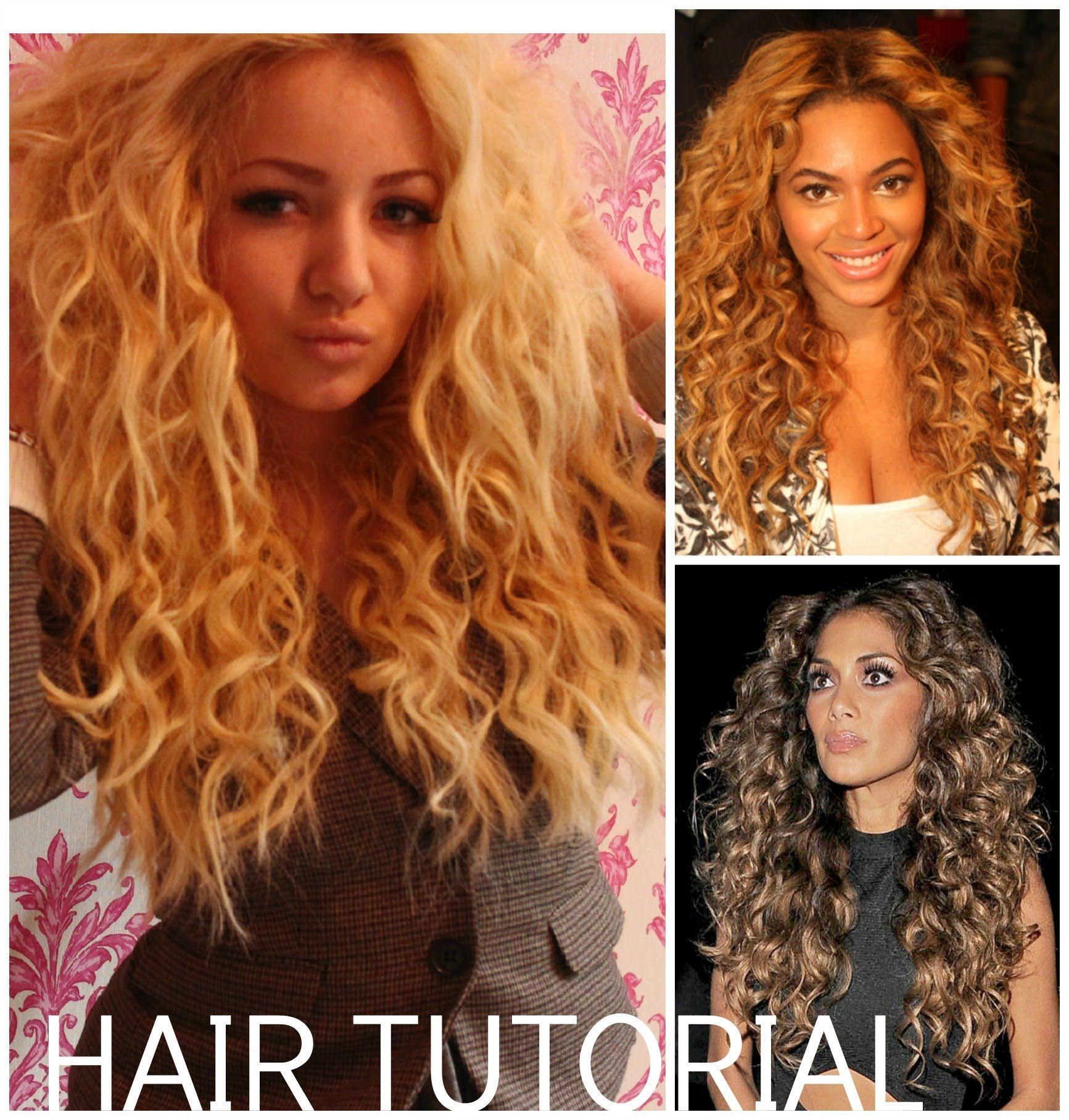 ... curly hair tutorial witch hair nicole scherzinger curls hair beyonce