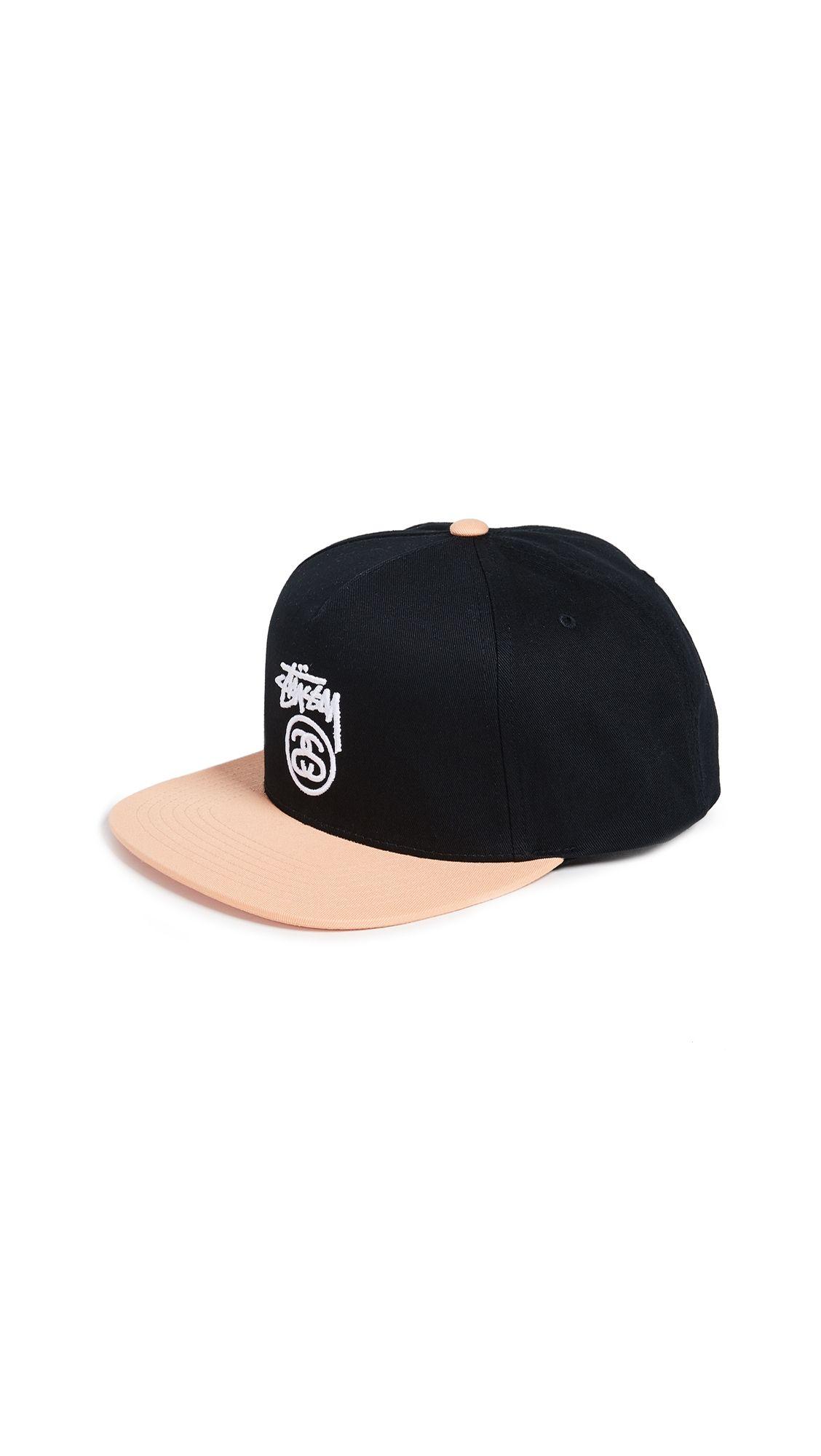80cc1ede12d STUSSY STOCK LOGO S18 SNAPBACK CAP.  stussy