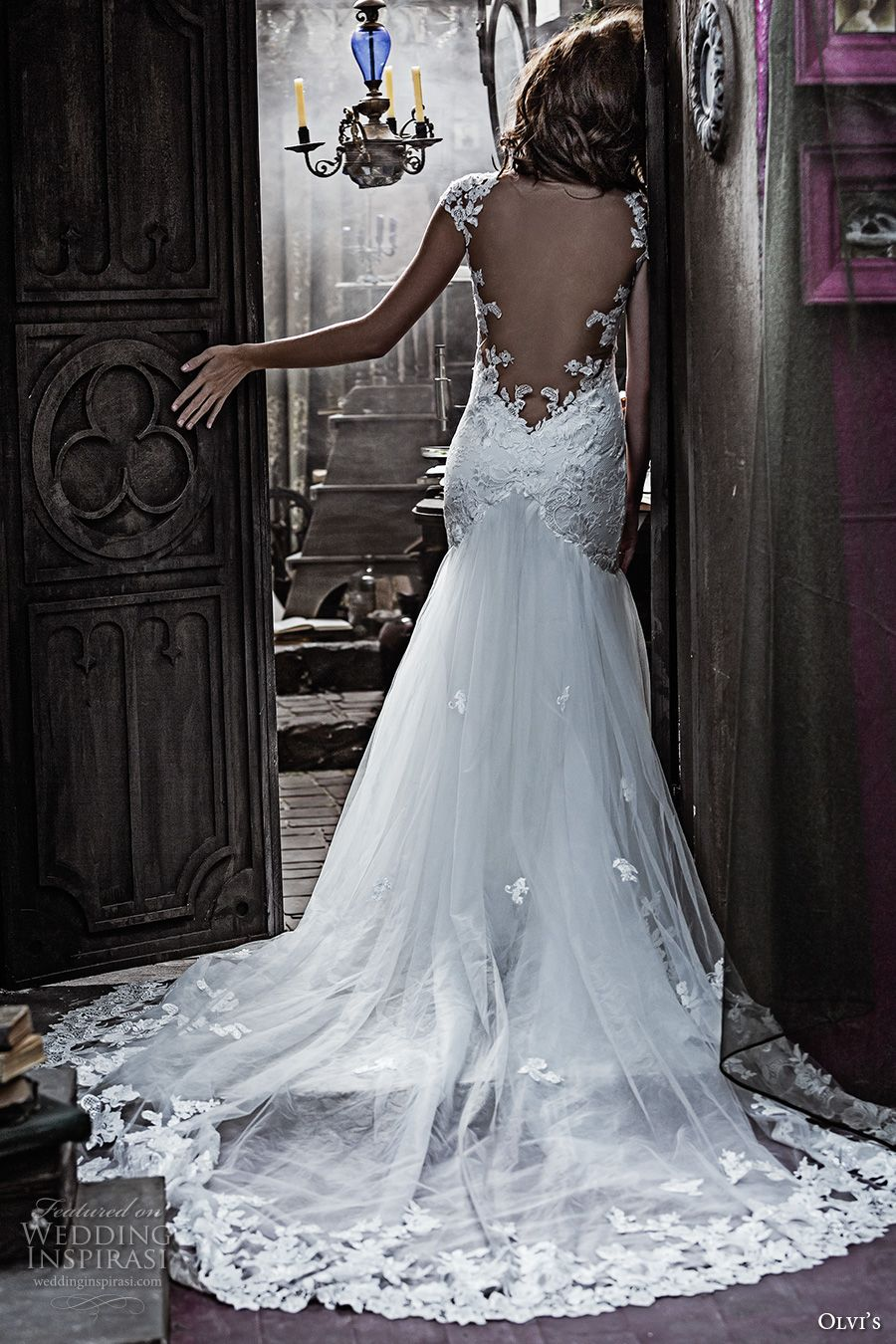 Olga Yermoloff 2017 Couture Wedding Dresses | Couture bridal, Chapel ...