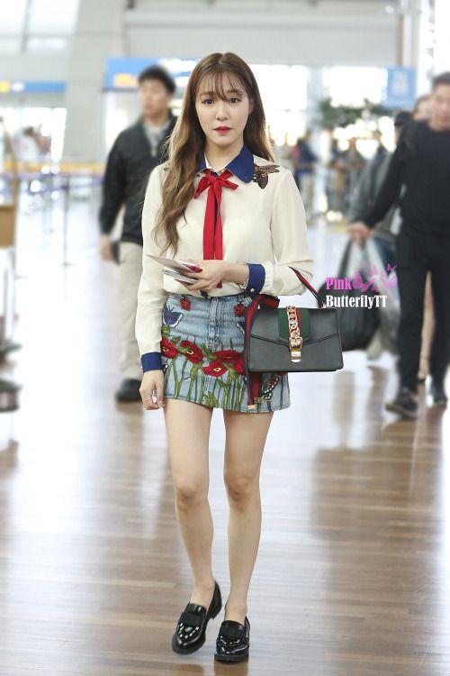 [160415] Tiffany at Incheon Airport To Jakarta | Tiffany ...