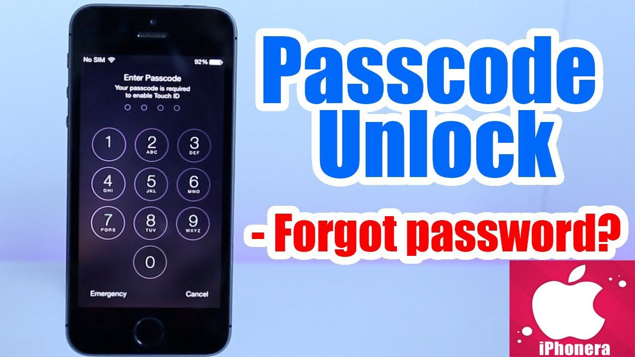 How to unlock any iphone without using passcode and