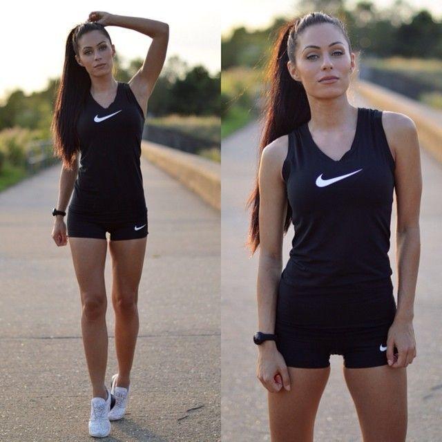 nike air force black instagram fitness