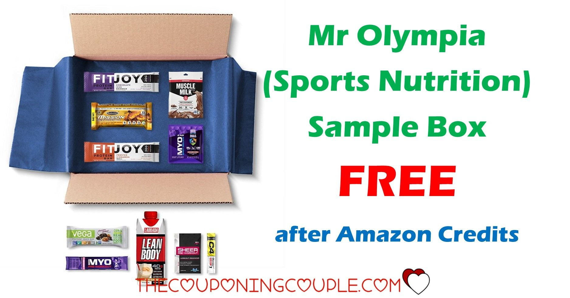 picture about Olympia Sports Printable Coupons titled Mr Olympia Sports activities Pattern Box (Athletics Vitamins and minerals)No cost soon after